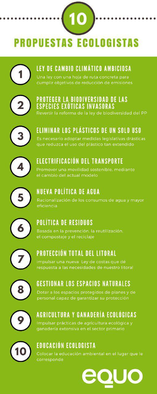 Imagen con medidas para solucionar los problemas ambientales: propuestas ecológicas verdes