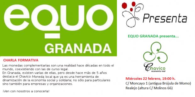 Charla formativa sobre monedas locales. El Chavico @ Granada | Andalucía | España