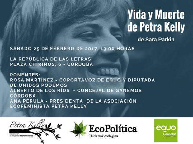 Vida y Muerte de Petra Kelly. Presentación en Córdoba @ La República de las Letras | Córdoba | Andalucía | España