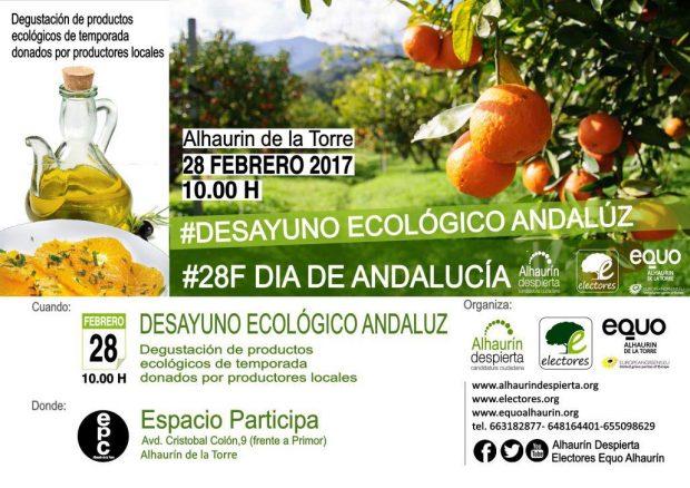 Desayuno ecológico andaluz @ Espacio Participa | Alhaurín de la Torre | Andalucía | España