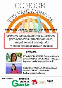 Visita del Parlamento @ Auditorio Municipal de Villanueva del Trabuco