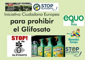 Firma contra el Glifosato @ Mercadillo | Rota | Andalucía | España
