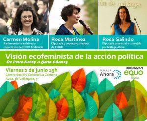Visión Ecofeminista de la Acción Política @ La Colmena. Enjambre de Centros Sociales y Culturales | Málaga | Andalucía | España