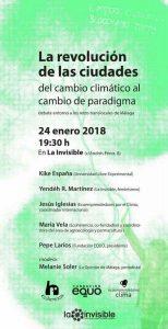 Debate La Revolución de las Ciudades @ La Invisible | Málaga | Andalucía | España