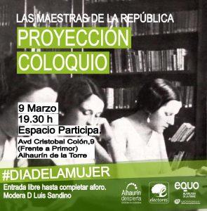 Las Maestras de la República @ Espacio Participa | Alhaurín de la Torre | Andalucía | España