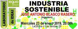 Laboratorio de Ideas: Industria Sostenible @ La Oficina Producciones Culturales