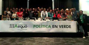 Foto de familia de los asistentes andaluces a la III Asamblea Federal.