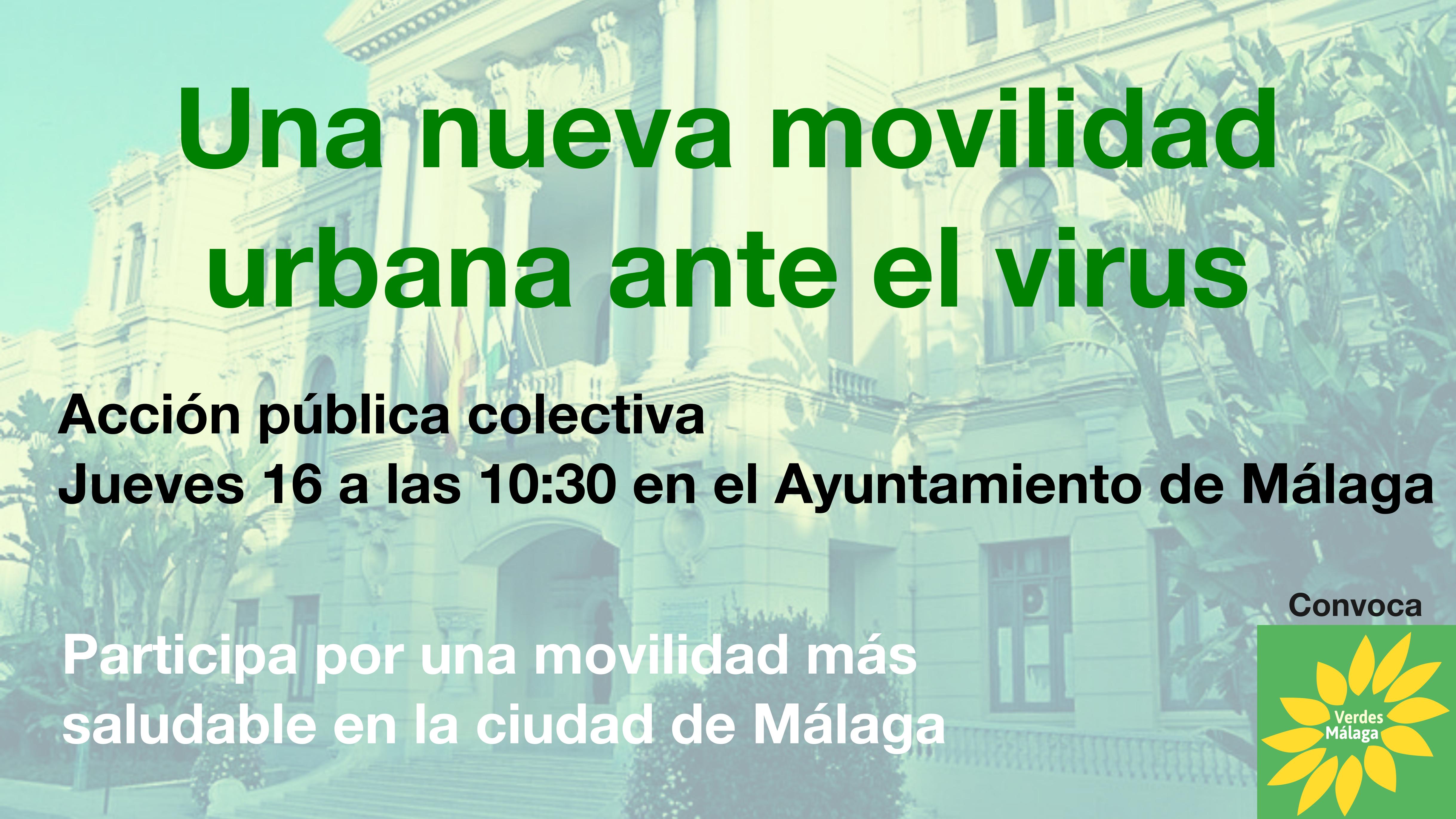 Presentación propuestas de movilidad al Ayuntamiento de Málaga