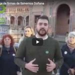 Entregamos 200.000 firmas con Salvemos Doñana exigiendo la paralización del proyecto gasístico en Doñana