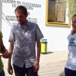 Florent Marcellesi vuelve a Doñana a insistir en la necesidad de promover una transición energética