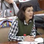 """Carmen Molina defiende en Fomento el refuerzo de la red ferroviaria y las inversiones """"que sirvan para recuperar lo que se ha dejado morir"""""""