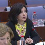 Carmen Molina pregunta por las partidas destinadas a seguir construyendo la red ciclista en Andalucía