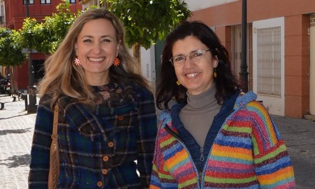 Carmen Molina e Isabel Brito de EQUO Andalucía
