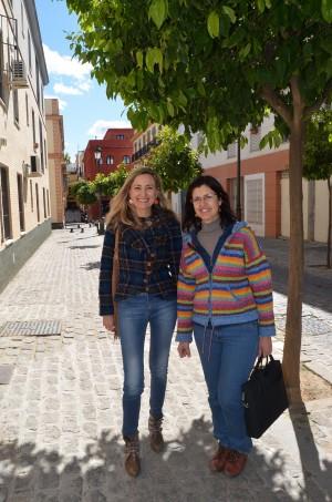 Carmen Molina e Isabel Brito 2016