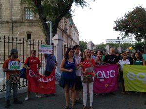 Nos proponemos movilizar de nuevo a la ciudadanía en rechazo al proyecto de Gas Natural en Doñana
