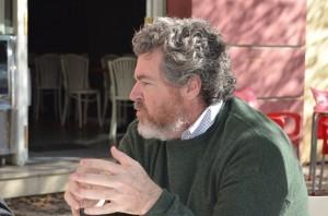 Juan López de Uralde en Sevilla contra el Cambio Climático
