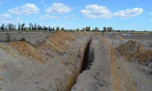 Zanja para gaseoducto junto a Doñana. Hay que salvar Doñana