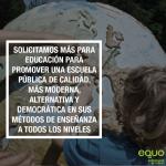 """Exigimos más recursos para Educación frente a las """"soflamas propagandísticas"""" de la Junta"""