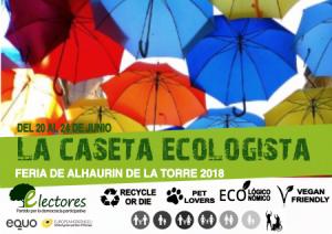 Caseta Ecologista de Electores. Feria Alhaurín de la Torre 2018