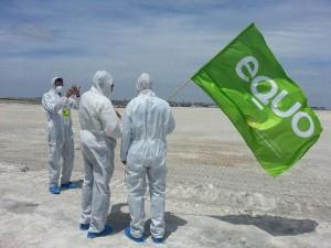 Manifestación contra fosfoyesos en Huelva