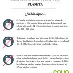 #NoMásPlástico: iniciativas para lucha contra el plástico innecesario
