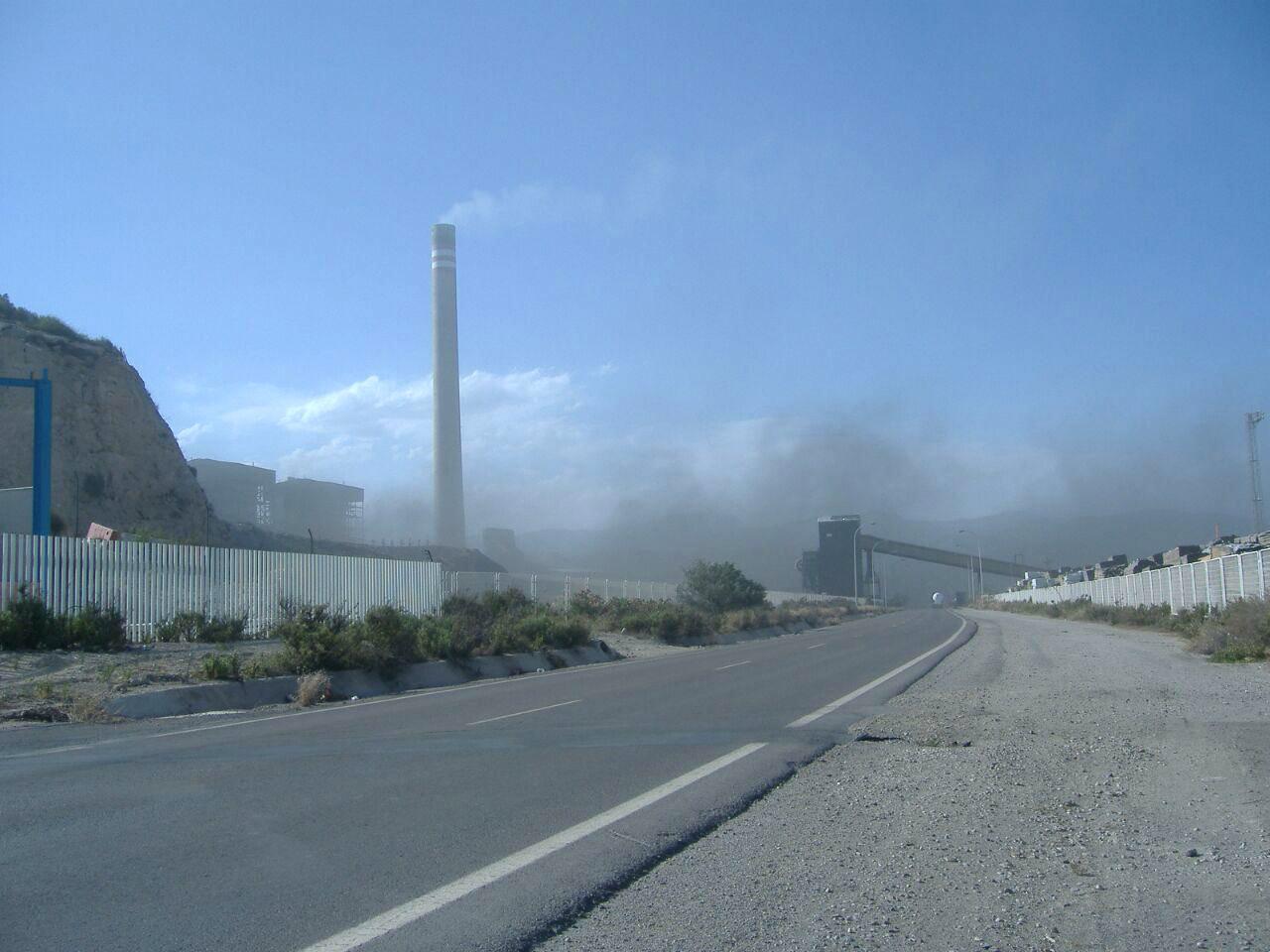 Vista de las instalaciones de Endesa en Carboneras (Almería).