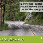 Insistimos en la necesidad de invertir en mejorar las carreteras ya existentes y en un modelo de movilidad multimodal