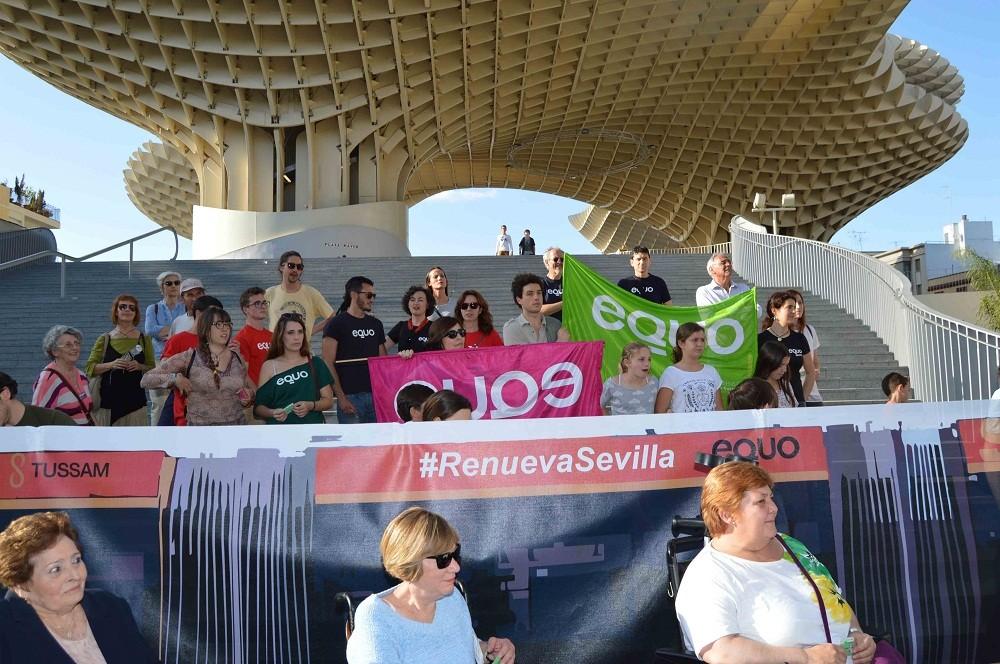 El MEtroBús llega a Sevilla con EQUO
