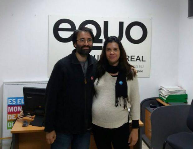 Miguel Ángel Megías y Sara Algaba.