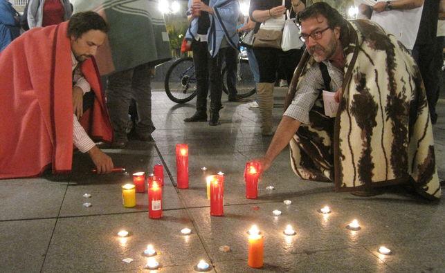 Foto movilización contra la emergencia climática