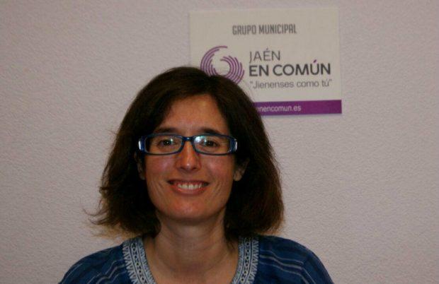 Martínez forma parte del grupo municipal de Jaén en Común.
