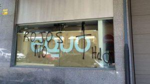 Ataque a la sede federal de EQUO