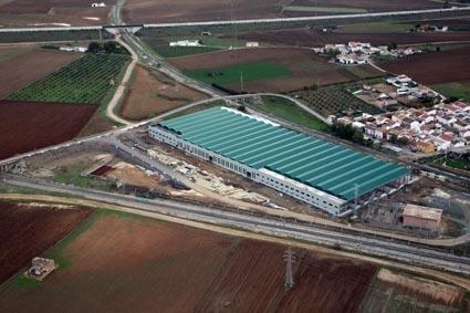 El Centro Integral de Servicios Ferroviarios (CISF) de Málaga, que forma parte del Centro de Ensayos de Alta Tecnología Ferroviaria (CEATF), ya se había materializado./ Adif