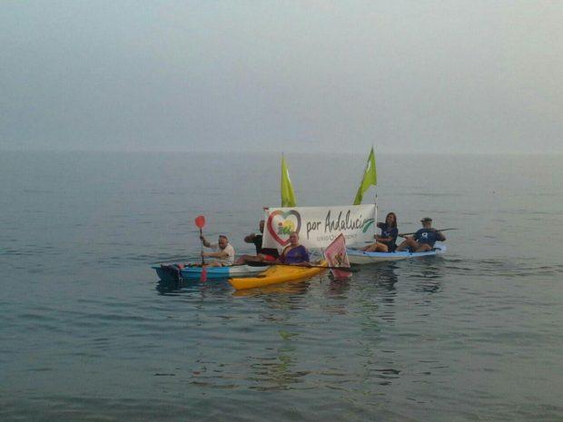 En Almería, han cerrado la campaña en el mar.