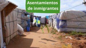 Imagen portada sobre asentamientos de inmigrantes en Andalucía