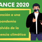 Balancedeun 2020 marcado por la pandemia y la inacción frente a la emergencia climática