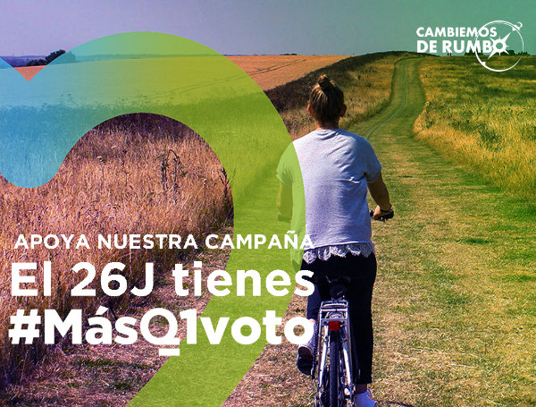 Colabora con #MásQ1voto