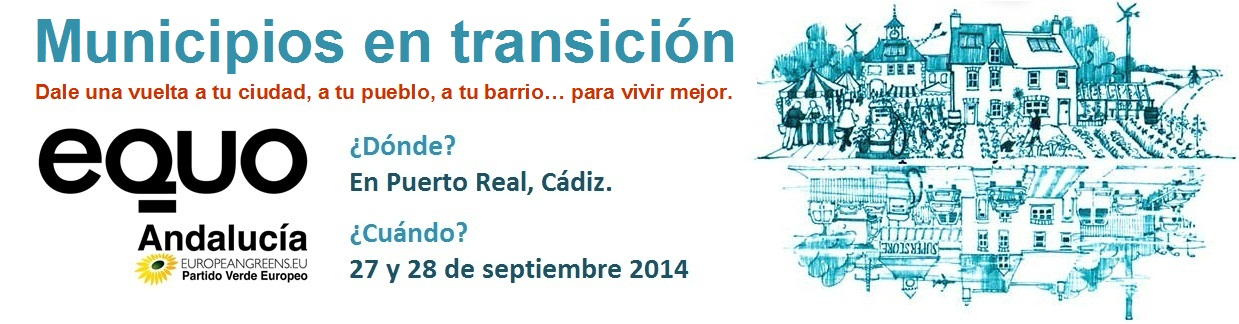 Banner Ciudades en Transición de EQUO Andalucía