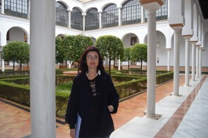 Carmen Molina, diputada EQUO en el Parlamento de Andalucía