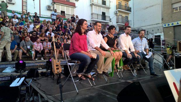 Acto de cierre oficial en Sevilla.