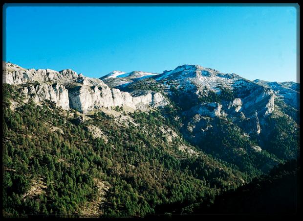 Vista de la Sierra de Cazorla.