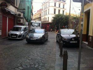 Coches vs peatones