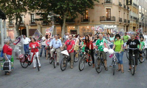 Bicicletada de los compañeros de Córdoba.