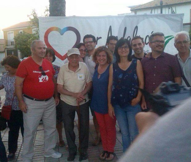 Participantes en el acto de Córdoba.