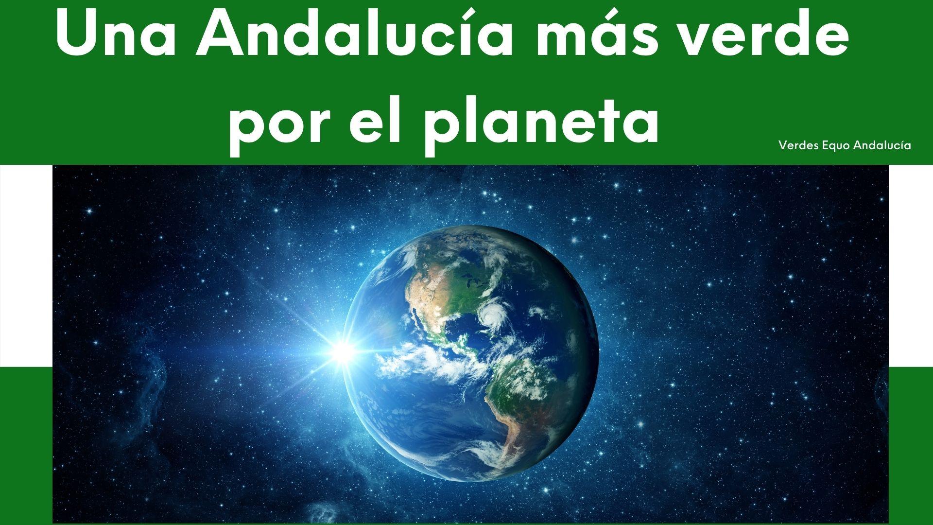 imagen Andalucía más verde por el planeta