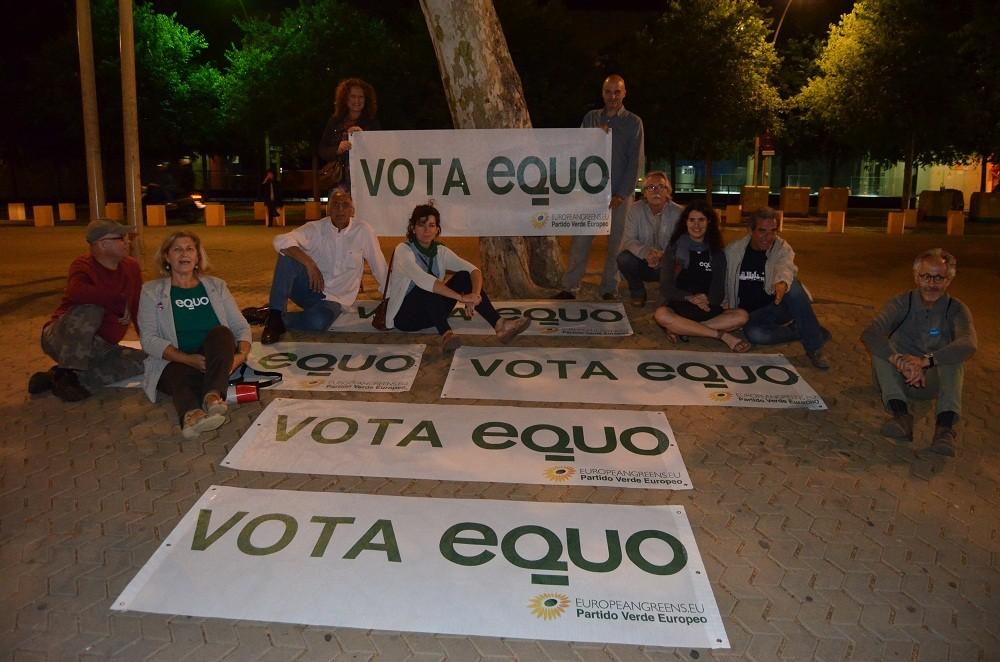 Novhe electoral en La Alameda de Sevilla