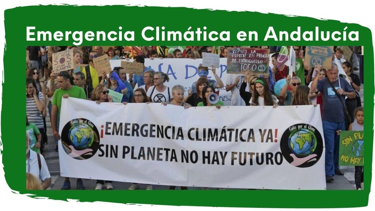 imagen emergencia climática en Andalucía