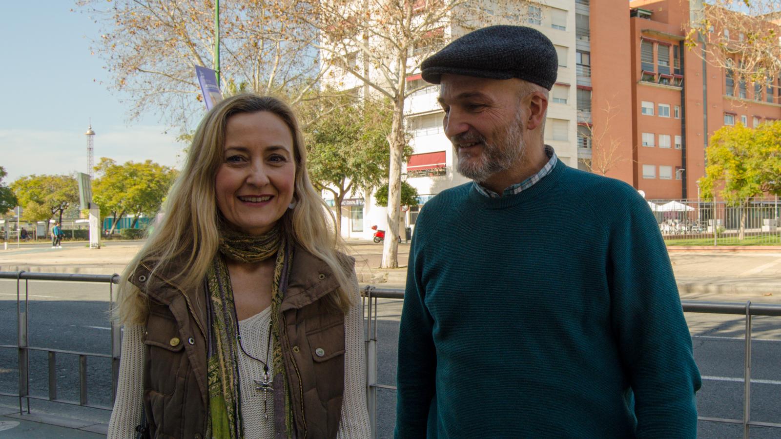 Esteban de Manuel e Isabel Brito, coportavoces EQUO VERDES Andalucía