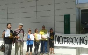 Esteban de Manuel de EQUO por una Sevilla libre de fracking