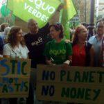 Las calles de Andalucía se llenan frente a la #EmergenciaClimática